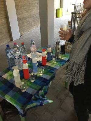 Waterproeftest kraantjeswater
