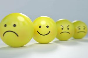 smileys met verschillende gevoelens