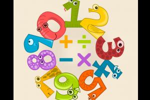 cijfers rond de vier bewerkingen