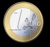één euromunt