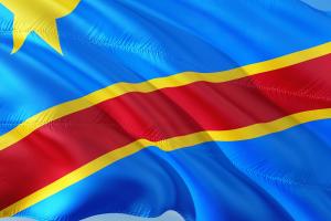 vlag van Congo