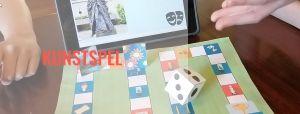 Titel en voorbeeld van het spelbord