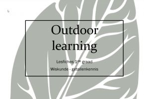 Titel outdoor learning