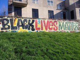 Graffiti Black Lives Matter