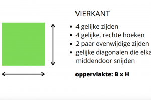 groen vierkant