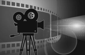 Illustratie van camera en film