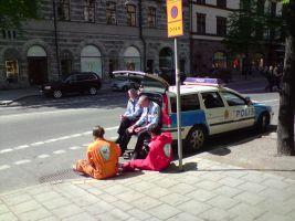 politie en dieven