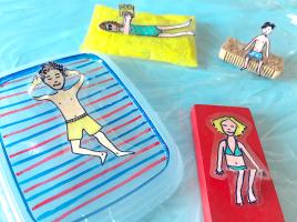 Vakantiegangers & waterratten - Lynn Bruggeman