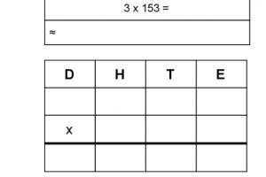 cijferoefening HTE x E