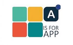 Het logo van A is for App.
