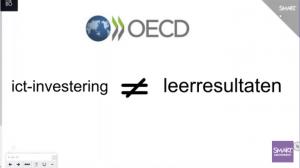 Schermopname ICT-investering is niet gelijk aan leerresulaten