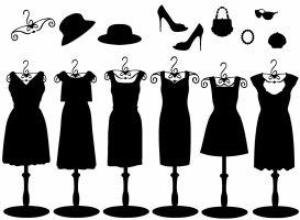 paspoppen met kledij