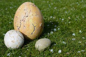 groot en klein ei