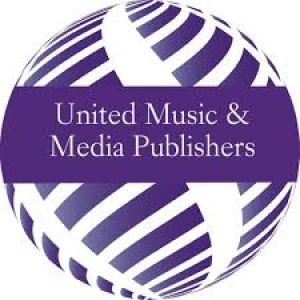 Het logo van United Music en Media Publishers