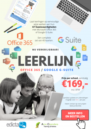 Leerlijn Office 365 en G-Suite for Education