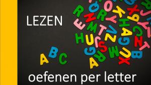 Titel lezen oefenen per letter