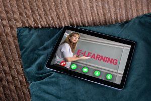 tablet, e-learning
