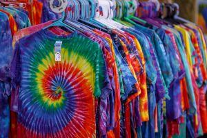 tie-dye T-shirten