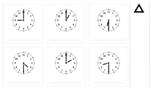 screenshot werkblad klokjes