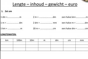 Voorbeeld uit: Herhalingsbundel rekenen startweek 1