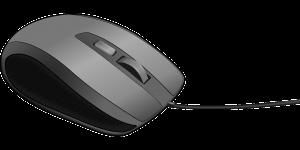 afbeelding van een computermuis