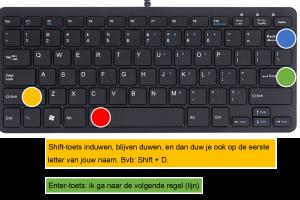 Voorbeeld uit: ICT - Les 5 - Word.docx