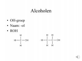 Voorbeeld uit: ingesproken ppt voor naamgeving derivaten van chemische stoffen juiste naamgeving.pptx