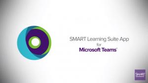 Screenshot video Smart Learning Suite App en Microsoft Teams
