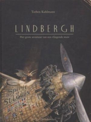 cover van het boek 'Lindbergh – het grote avontuur van een vliegende muis'