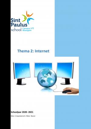 Voorbeeld uit: Thema 2 - Internet.docx