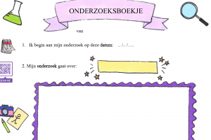 Voorbeeld uit: onderzoeksblaadje qr en tekeningen.docx