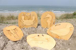 houten panelen educatief spel