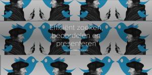 Een collage van Luther in profiel