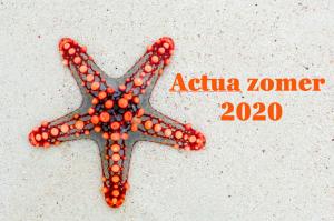 zeester met actua zomer 2020