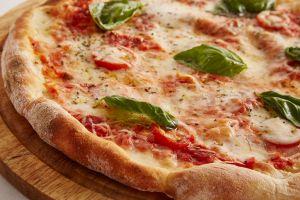 een pizza
