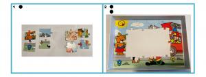Deel fotostappenplan puzzel