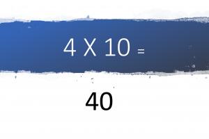 Voorbeeld uit: Tafels van 2, 4 en 8.pptx