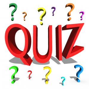 Quiz met vraagtekens