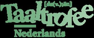 Logo Taaltrofee Nederlands