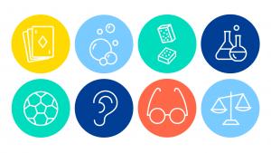8 iconen