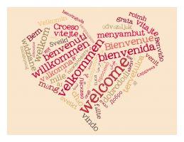 welkom in verschillende talen
