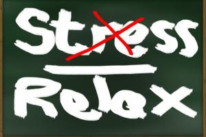woorden stress/ relax