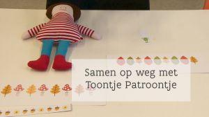 Screenshot video: Intro 'Samen op weg met Toontje Patroontje'