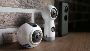 Enkele 360° videocamera's.