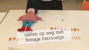 Screenshot video 'Samen op weg met Toontje Patroontje'