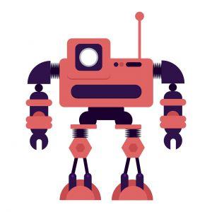 clipart van een robot