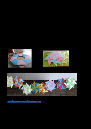 Voorbeeld uit: Meetkunde met origami.pdf