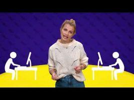 Voorbeeld van video 'De onregelmatige werkwoorden être en avoir'