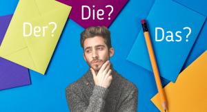 Man die nadenkt over de Duitse lidwoorden