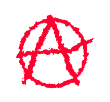 symbool anarchisme